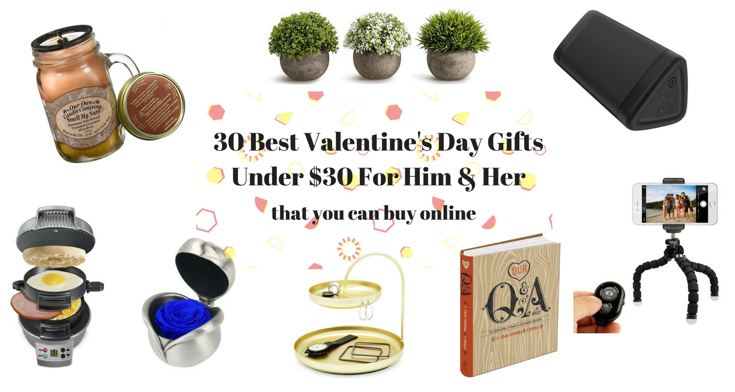 30 of the best valentine s day gifts under 30 for him for Best v day gifts