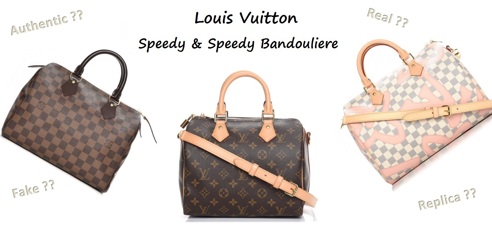 889e3e685720 How to Spot a Fake Louis Vuitton Bag 101 ǀ Speedy   Speedy Bandouliere