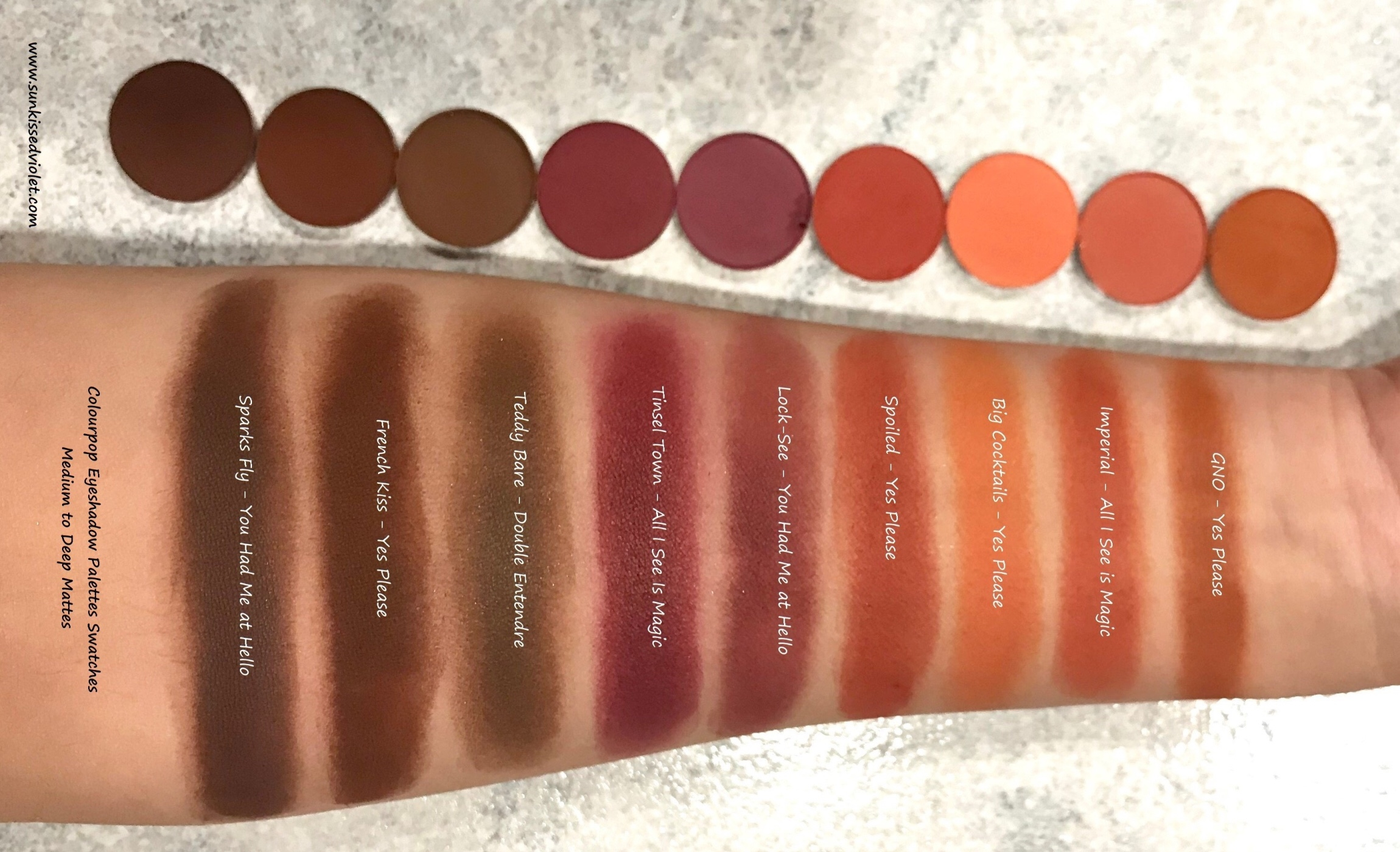 Colourpop Eyeshadow Palettes Guide Amp Breakdown Which