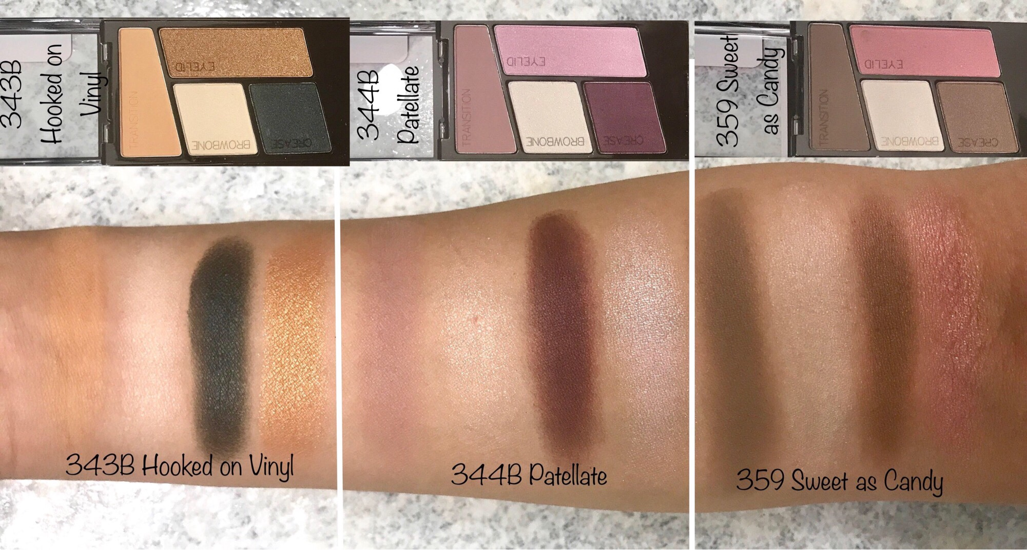 Wet N Wild New Color Icon Eyeshadow Quads And 10 Pan